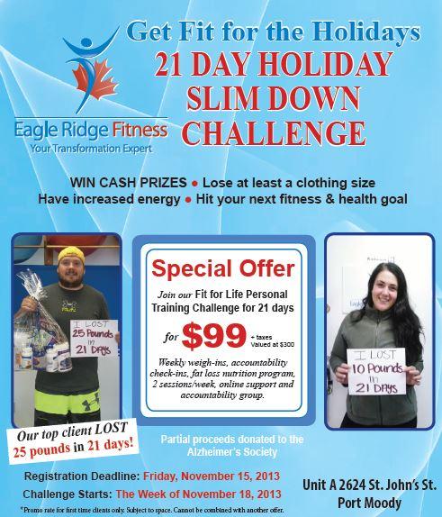 21 day holiday program